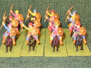 25mm Turkish Light Cavalry 12 Figures